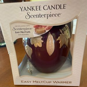 Yankee Candle melt cup warmer